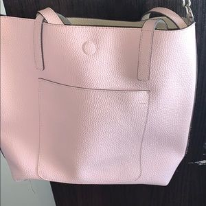Pink reverse able tote
